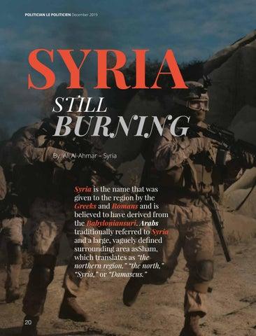 Page 20 of Syria Still Burning