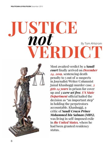 Page 8 of Justice Not Verdict