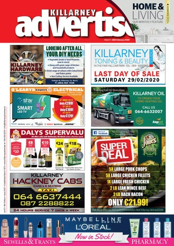Killarney Advertiser 28th February 2020 By Killarney Advertiser