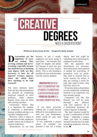 Page 11 of Dissertations for Creative Degrees
