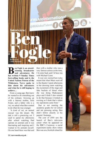 Page 24 of Ben Fogle Interview