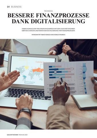 Page 16 of TREUVISION AG Bessere Finanzprozesse dank Digitalisierung