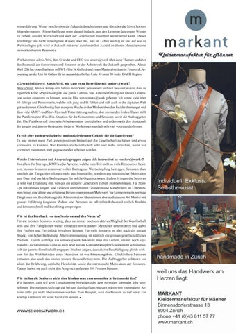 Page 25 of ARBEITSWELT 2020 Das Phänomen «Silver Society
