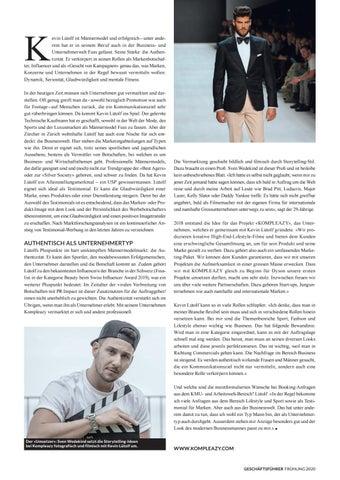 Page 27 of KEVIN LÜTOLF KOMPLEAZY Top-Transfer von Business-Kommunikationszielen