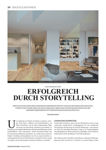 Page 36 of MUSCI IMMOBILIEN GMBH Erfolgreich durch Storytelling