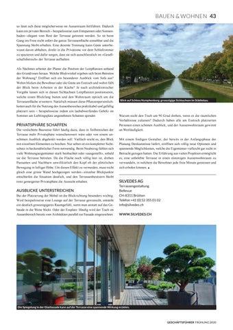 Page 45 of SILVEDES AG Terrassengestaltung mit Sichtachsen