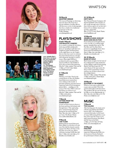 Page 45 of WHAT'S ON Theatre, music and some family stuff