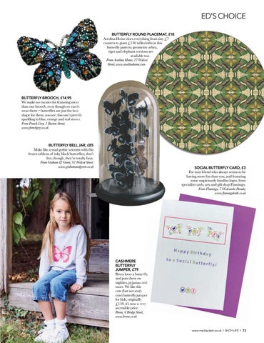 Page 73 of EDITOR'S CHOICE The butterfl y collectors