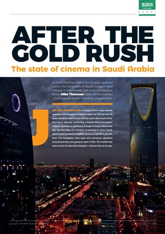 Page 35 of After the gold rush: we look at the Saudi cinema market