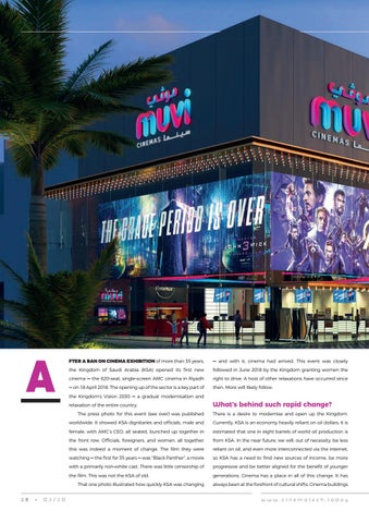 Page 38 of Build a cinema in 6 weeks? Anything's possible in KSA