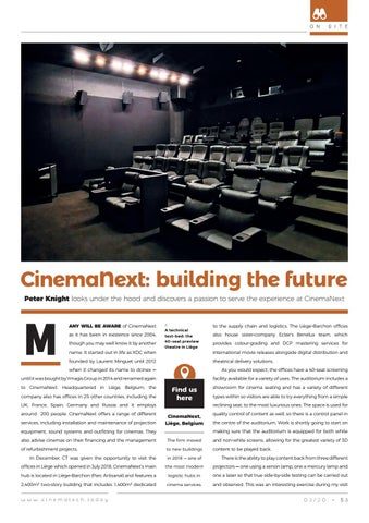 Page 53 of Peter Knight peeks under the hood at CinemaNext