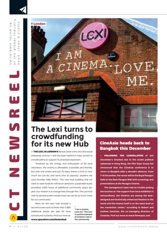 Page 8 of The latest from around the world of cinema exhibition