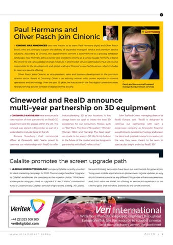 Page 9 of The latest from around the world of cinema exhibition