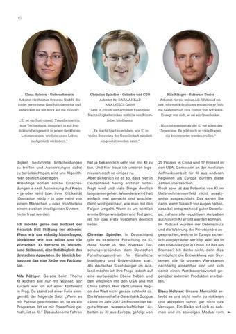 Page 15 of mit Elena Holsten, Christian Spindler und Nils Röttger