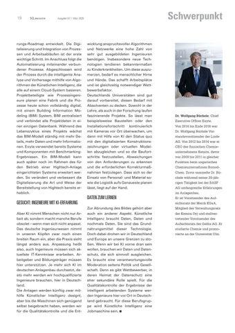 Page 19 of KÜNSTLICHE INTELLIGENZ IM ANLAGENBAU