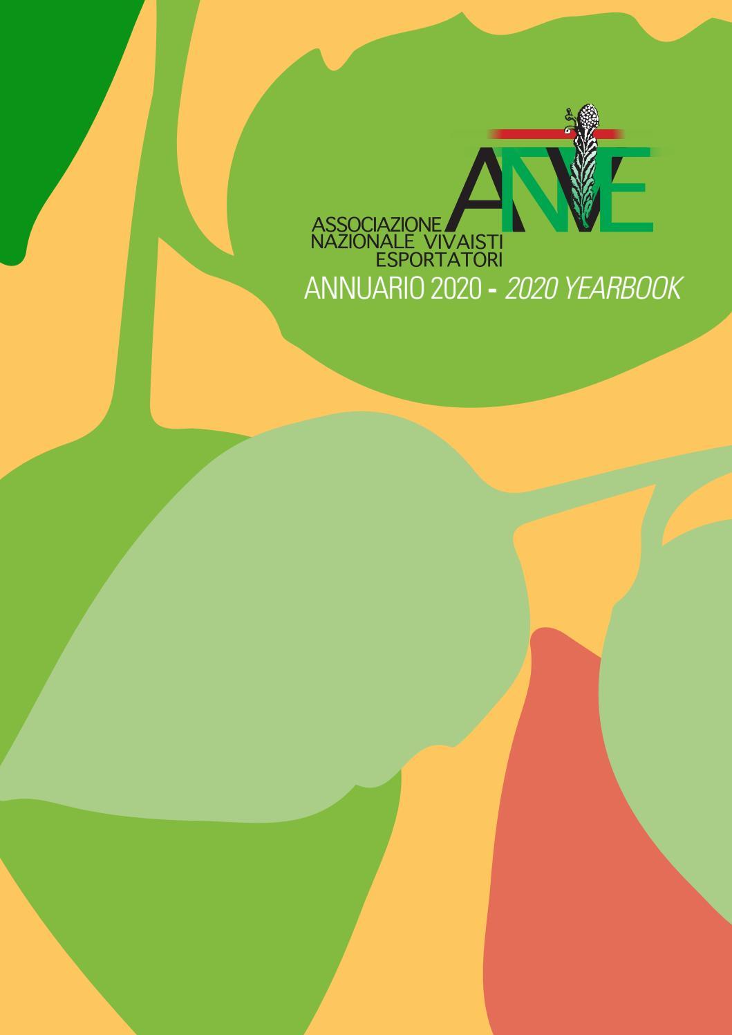 Acero Radici Invasive annuario anve 2020 - yearbook anve 2020 by anve