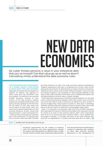 Page 38 of New Data Economies