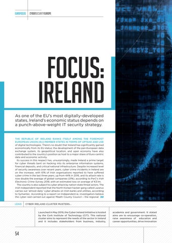Page 54 of Cyber Security Focus: Ireland