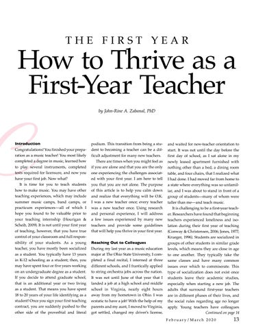 Page 13 of The First Year: How to Thrive as a First-Year Teacher