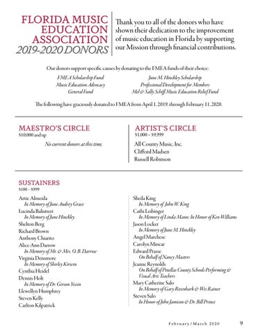 Page 9 of June M. Hinckley Music Scholarship Call for Applications