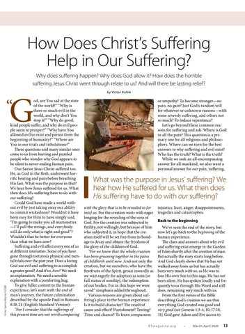 Page 13 of How Does Christ's Suffering Help in Our Suffering?