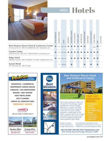 Page 11 of Area Hotels