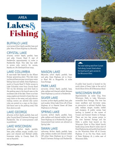 Page 16 of Area Lakes and Fishing