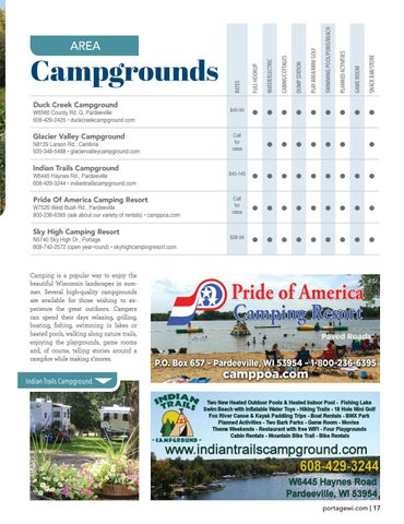 Page 17 of Area Campgrounds