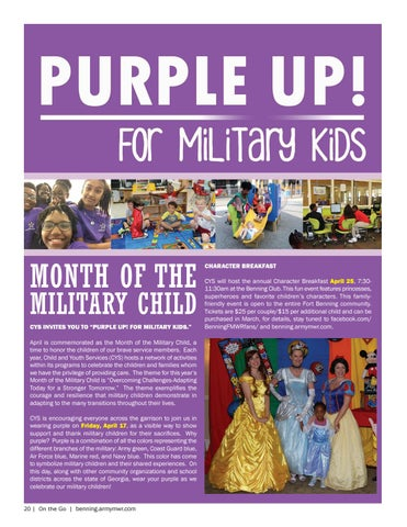 Page 20 of MONTH OF THE MILITARY CHILD