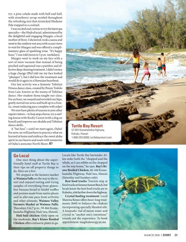 Page 21 of Turtle Bay Resort