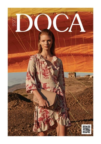 DOCA κατάλογος «Άνοιξη - Καλοκαίρι 2020». Τσάντες, ρούχα, παπούτσια