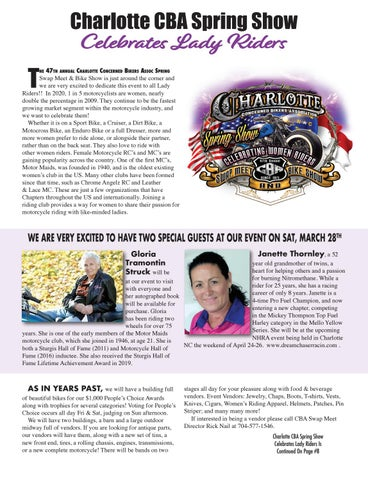 Page 7 of Charlotte CBA Spring Show Celebrates Lady Riders
