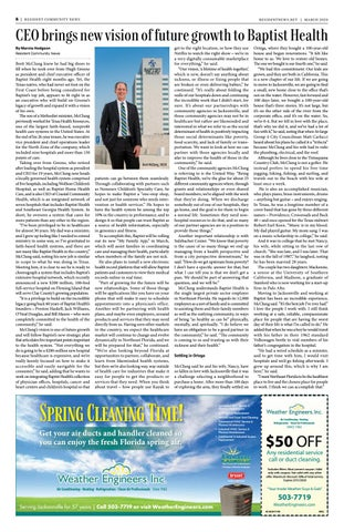 Page 8 of CEO brings new vision of future growth to Baptist Health