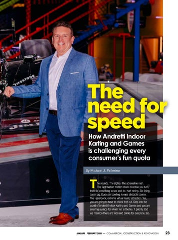 Page 25 of How Andretti Indoor Karting and Games is challenging every consumer's fun quota The need for speed