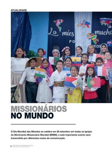 Page 18 of Atualidade MISSIONÁRIOS NO MUNDO