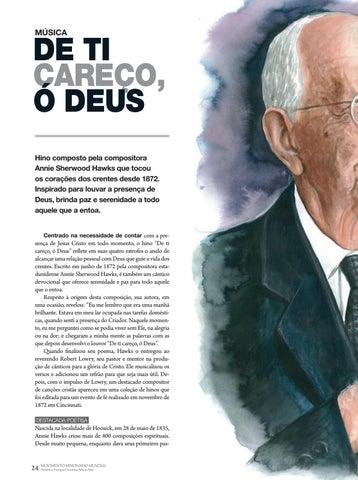 Page 24 of Música DE TI CAREÇO, Ó DEUS