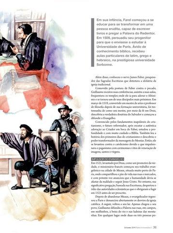 Page 31 of Herói da fé O INCANSÁVEL OBREIRO