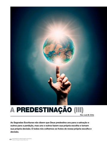 Page 40 of Apologética A PREDESTINAÇÃO (III