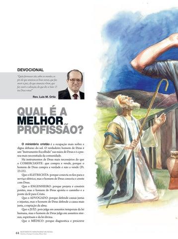Page 44 of Devocional QUAL É A MELHOR PROFISSÃO?