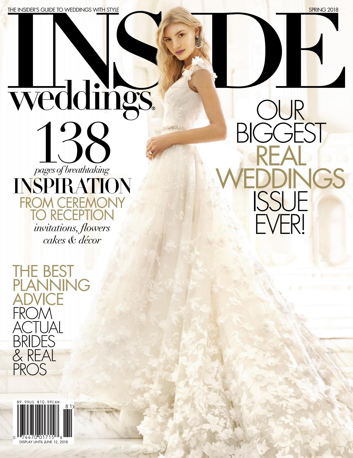 Inside Weddings Spring 2018 By Inside Weddings Issuu
