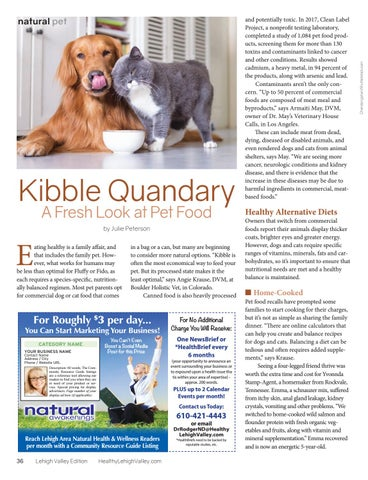 Page 36 of KIBBLE QUANDARY