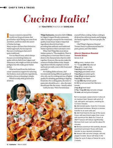 Page 10 of Chefs' tips and tricks