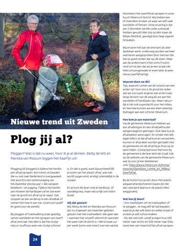 Page 24 of Nieuwe trend uit Zweden: Plog jij al?