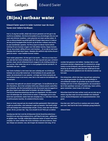 Page 7 of Column Edward over (bijna) eetbaar water