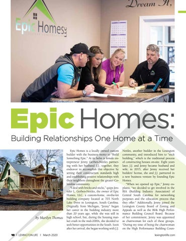 Page 18 of Epic Homes-Building Relationships