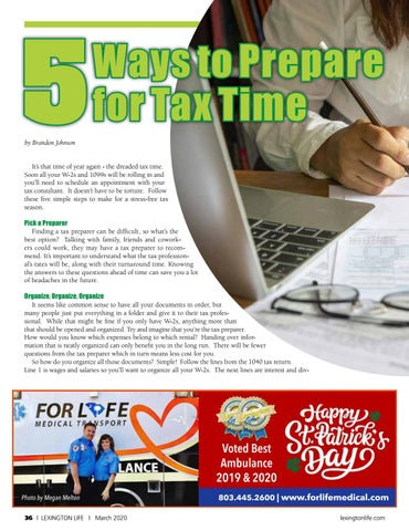 Page 36 of 5 Ways to Prepare for Tax Time