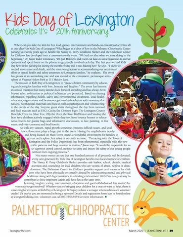 Page 39 of 20th Annual Lexington Kid's Day