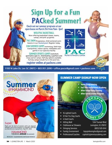 Page 54 of Give Your Child a Summer to Remember-Summer Camps