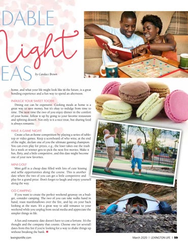Page 59 of Affordable Date Night Ideas