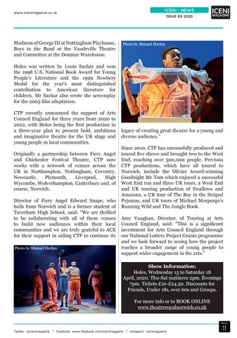 Page 11 of Iceni News New Stage Show